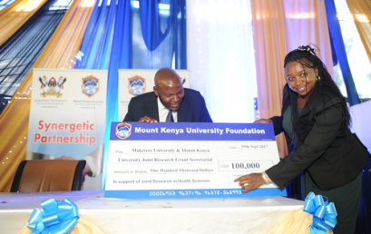 MKU Foundation donates KSH 10 Million