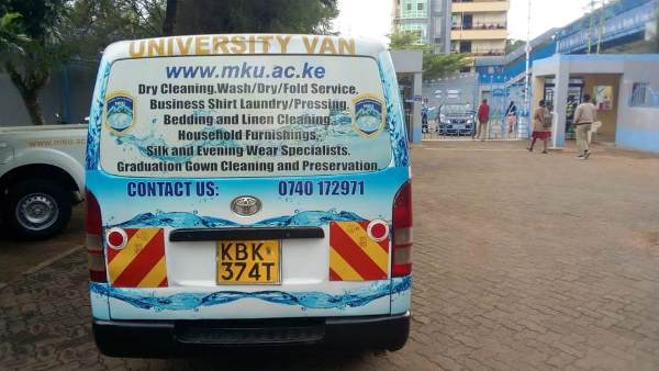 MKU Laundry and Dry Cleaner vehicle