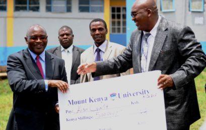 MKU donates Ksh 500,000 to needy students