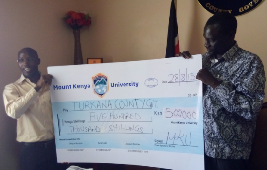 Varsity donates Ksh500,000 towards Turkana Cultural Festival