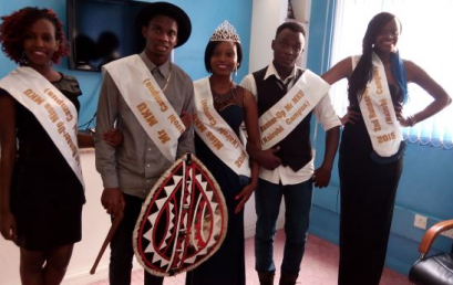 Mr & Miss MKU Nairobi Campus have a passion for charity