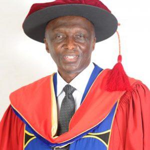 Prof. Deogratius Jaganyi, Vice-Chancellor