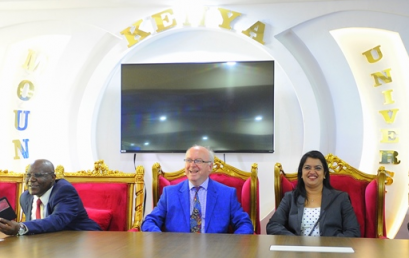 Renown Indian doctor attends launch of MKU Medical camp
