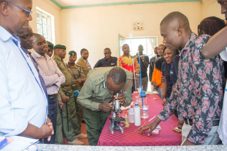 MKU Nairobi campus president's award club constructs a science laboratory for Nyeri Main Prison inmates