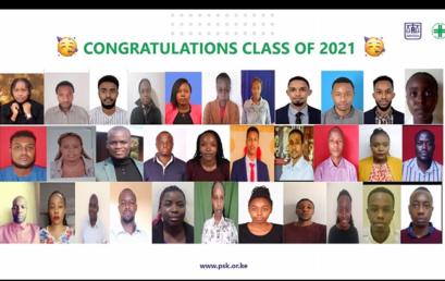 MKU Bachelor of Pharmacy class of 2021 took professional oath virtually